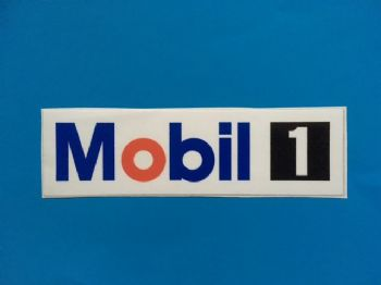MOBIL 1 stickers/decals x2